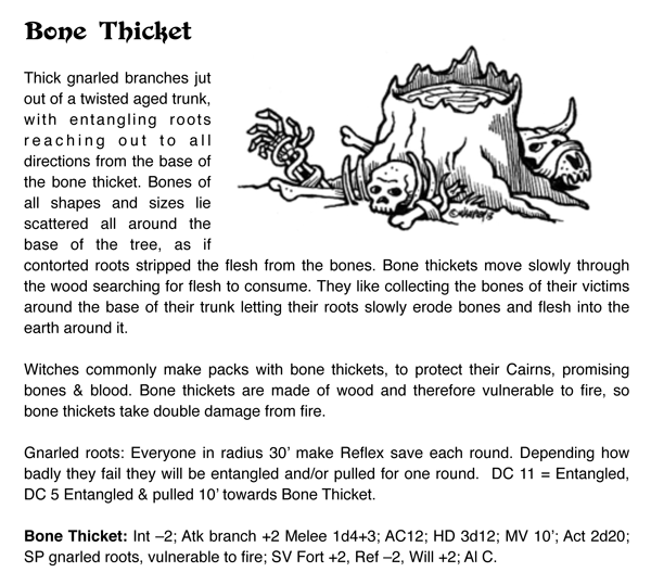 Bone Thicket